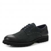 280-068C-1403 П/Ботинки муж. нубук/кожа-текстиль синий, Thomas Munz - 42