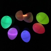 Fun Central Bc907 Glow Eggs, Glowing Egg, Dinosaur Egg Toy - Perfect For Easter And Kids Party Accessories, Birthday Decorations Assorted 3 Packs