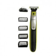 Aparat hibrid de ras si tuns barba Philips OneBlade QP2520/30, 2 rezerve, Verde