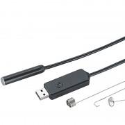 Somikon Wasserfeste USB-Endoskop-Kamera UEC-6150, verstärktes 15-m-Kabel, LEDs
