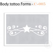 Šablon za Body Tattoo C-005
