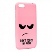 Husa de protectie Dont Touch My Phone pt. Apple iPhone 6 / 6S Silicon P90
