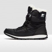 Sorel Whitney Short Lace Women's Snow Boots Black UK4
