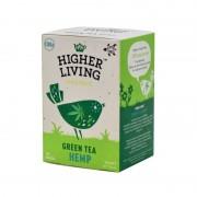 Ceai verde -HEMP- eco, 20 plicuri, Higher Living