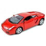 Lamborghini Gallardo Sports Car, Yellow Kinsmart 5098 D 1/32 Scale Diecast Model Toy Car