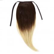 Cozi Par Natural Volum 50cm 140gr Ombre Saten Ciocolatiu-Blond Deschis #T4/60