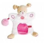 Doudou Doudou Et Compagnie Chien Marionnette Lovely Fraise Pompon Rose Dc3050