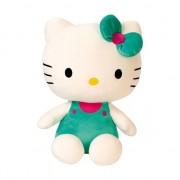 Hello Kitty Groen pluche Hello Kitty knuffel 30 cm
