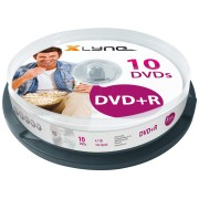 XLYNE 3010000 - xlyne DVD+R 4,7GB, 16x Speed, Spindle 10
