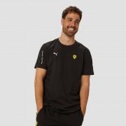 PUMA Scuderia ferrari t7 shirt zwart heren Heren - zwart - Size: Extra Large