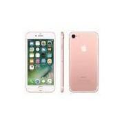 iPhone 7 Ouro Rosa 32GB, Tela 4,7, 3D Touch, iOS 11, Touch ID, Câm.12MP, Resistente à Água