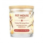 Pet House Vanilla Creme Brulee Pet House Soy Natural Candle, 8.5-oz jar