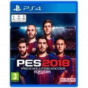 PES 2018 Playstation 4