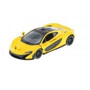 McLaren P1, Yellow - Kinsmart 5393D - 1/36 Scale Diecast Model Toy Car