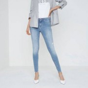 River Island Womens Light Blue Molly distressed jeggings