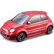 Fiat Abarth 500 (Rood) 1:43 Bburago