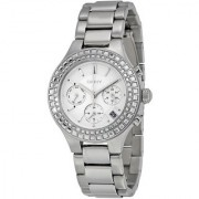 DKNY Quartz Silver Round Women Watch NY2258