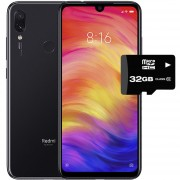 Celular Xiaomi Redmi Note 7 64Gb 4GB Dual Sim + Micro SD 32GB - Negro