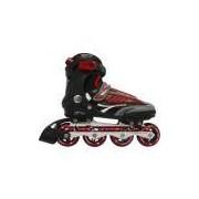 In-line rollers future 7000 nr-43 vermelho - Bel Sports