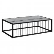 [en.casa]® Moderný konferenčný stolík AANT-0318 - imitácia betónu - 100 x 60 x 30 cm