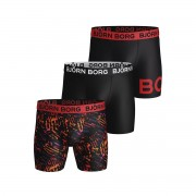 Björn Borg Performance Shorts Starcut 3-Pack M