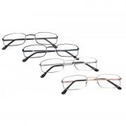 Merkloos Dames leesbril met hoesje