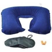 Trisha Neck Pillow & Sleep Pillow Neck Pillow & Eye Shade(Multicolor)