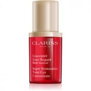 Clarins Super Restorative serum reafirmante para contorno de ojos antiarrugas, antibolsas y antiojeras 15 ml