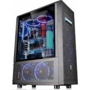 Carcasa Thermaltake Core X71 Tempered Glass Fara sursa Neagra