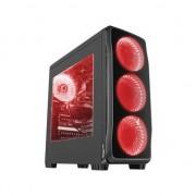 Carcasa desktop genesis TITAN 750 Red (NPC 1125)