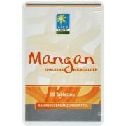Life Light Mangan Spirulina, hefefrei - 90 Tabletten