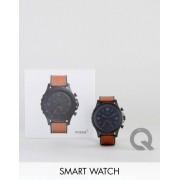 Fossil Смарт-часы Fossil Q FTW1114 Nate - Рыжий
