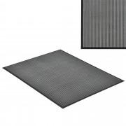 [en.casa] Lábtörlő szőnyeg - csúszásgátlóval / előszoba szőnyeg - 120x90cm (sötétszürke)