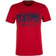 s.Oliver Tricou pentru bărbați 03.899.32.5206.3660 Uniform Red XXL