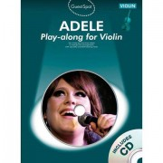 Music Sales Adele - Play-along for Violin Play-Along