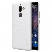 Capa Nillkin Super Frosted Shield para Nokia 7 Plus - Branco