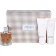 Jimmy Choo Illicit lote de regalo I. eau de parfum 100 ml + leche corporal 100 ml + gel de ducha 100 ml