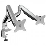 "Raidsonic IB-MS504-T 12""-32"" monitor asztali állvány Silver"