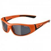Alpina Flexxy Junior Black S3 Occhiali da sole grigio/arancione/rosso;nero/grigio