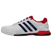 adidas Men's Barricade Club Ftwwht, Conavy and Vivred Tennis Shoes - 8 UK/India (42 EU)
