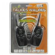 2 talkies-walkies T-628 de PCS, 22 canaux pour les États-Unis et 8 pour l Europe, fonction de balayage de canal et de moniteur, gamme de fréquence: 462.5625-462.7250MHz (noir)