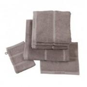 Prosop baie,bumbac,Aquanova Adagio,55x100 cm,maro -ADATWS-05