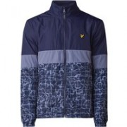 Lyle & Scott Softshell jack met colour blocking en dessin