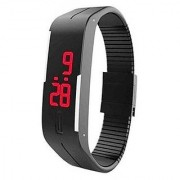 Export Digital LED Unisex Watch - Black i