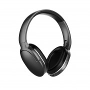 BASEUS Encok D02 Foldable Stereo Wireless Bluetooth Over-ear Headphone with Mic - Black