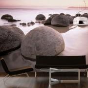 Genius Fotobehang Moeraki Boulders (366 x 254 cm)