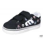 rövidszárú cipő gyermek - ETNIES - Black/Blue