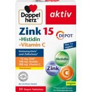 Queisser Pharma GmbH & Co. KG DOPPELHERZ Zink+Histidin Depot Tabletten 30 St