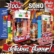 FlavourArt MIX and SHAKE Short Fill 60мл/100мл + 40мл VG - SOHO