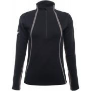 Dainese HP2 Mid Half Zip Funcional camiseta de las señoras Negro S